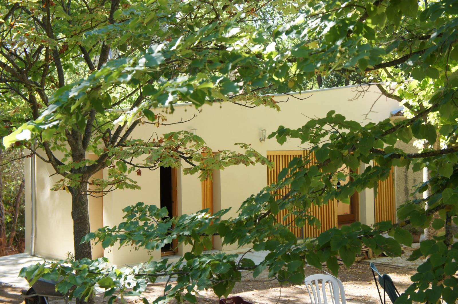 Extension D Une Maison Individuelle Au Tholonet Aix En Provence  ~ Surelevation Bois Aix En Provence