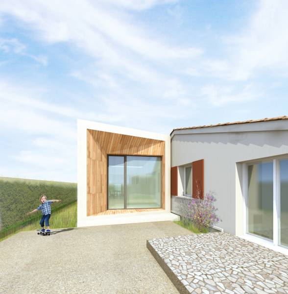 architecte pour extension maison contemporaine